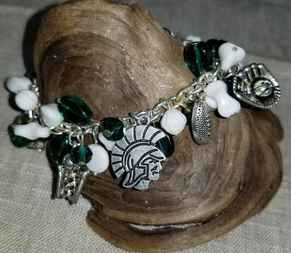 Michigan State Bracelet