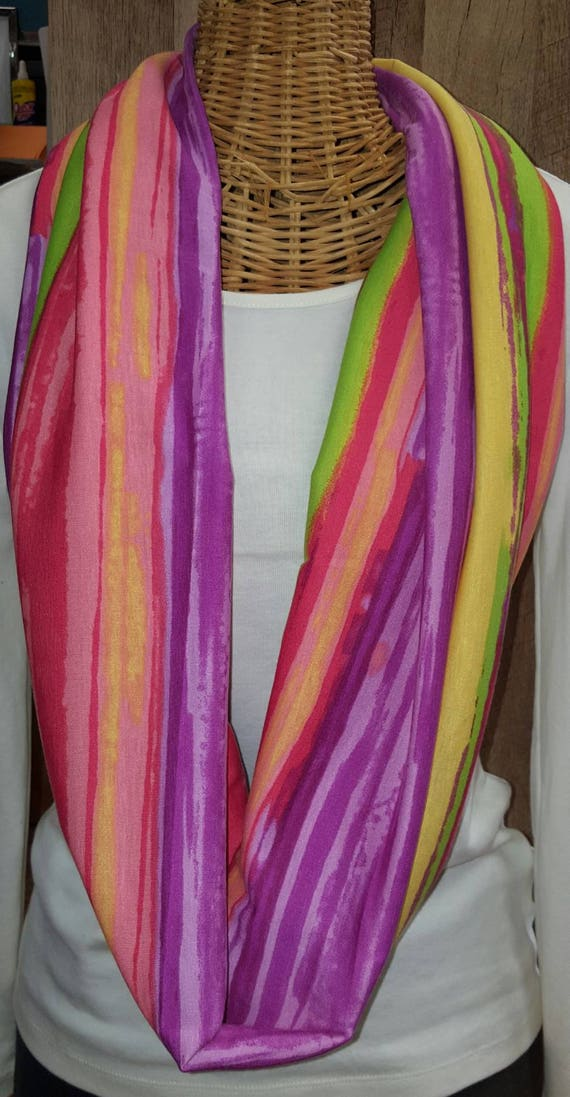 Bright Color Wrap Scarf