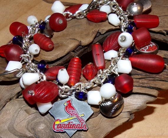 Cardinals Bracelet