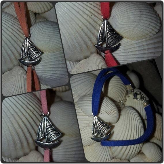 Sail Boat Bracelet