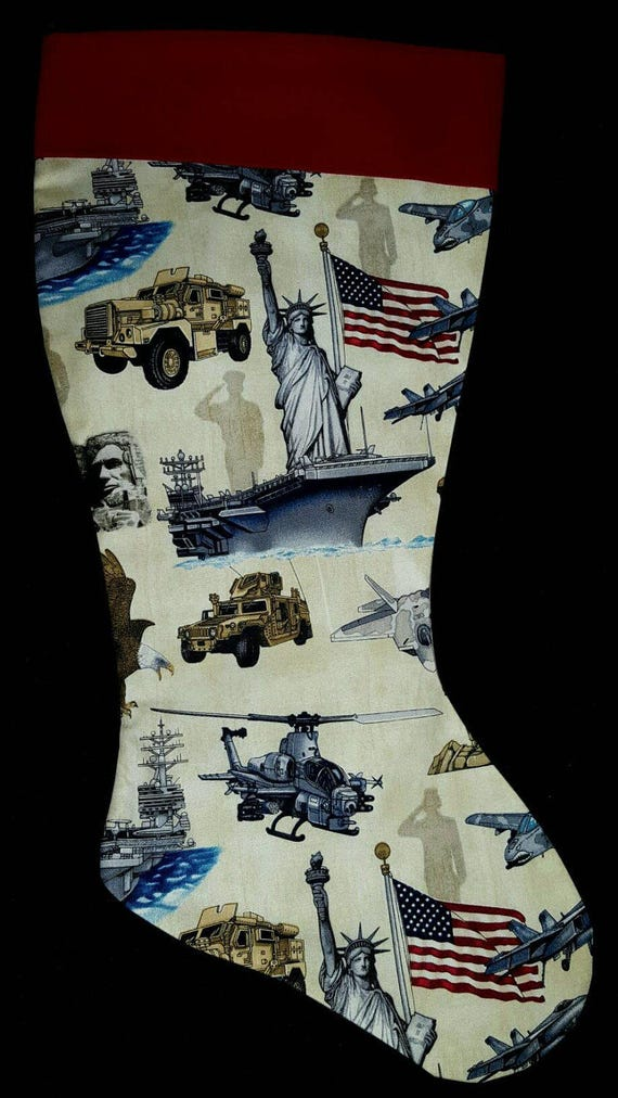 America Christmas Stocking