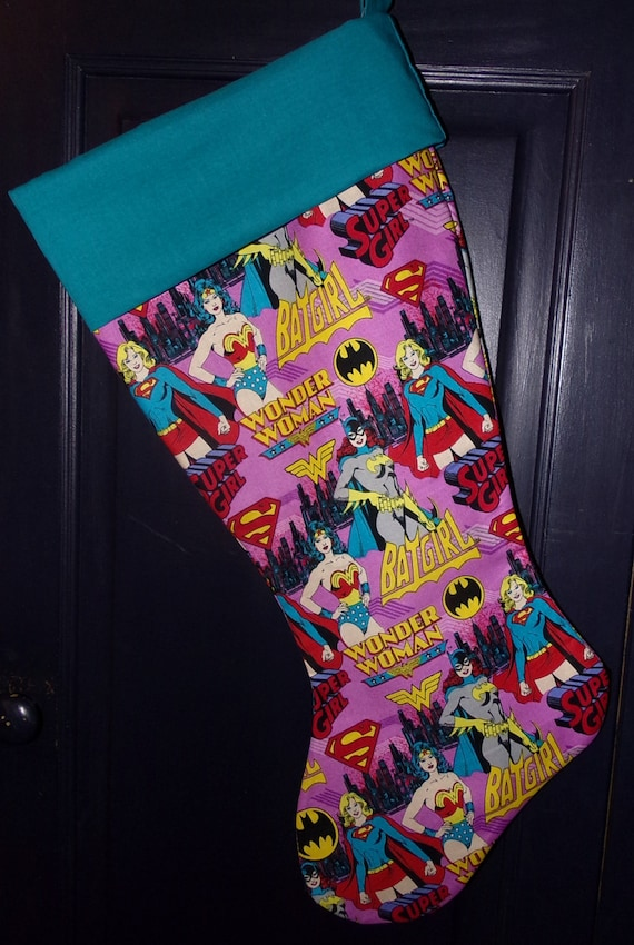 DC Comic Christmas Stocking