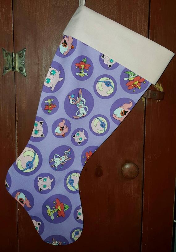 Pokemon Christmas Stocking