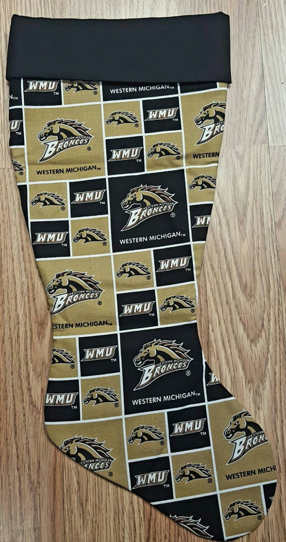 Western Michigan  Christmas Stocking