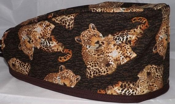 Leopard Surgical cap