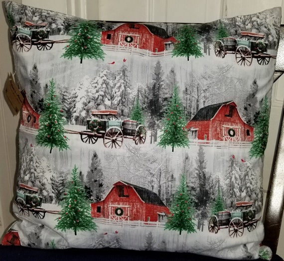 Barn Pillow Cover