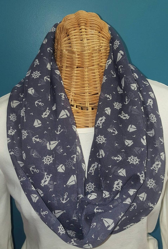 Nautical Infinity Scarf
