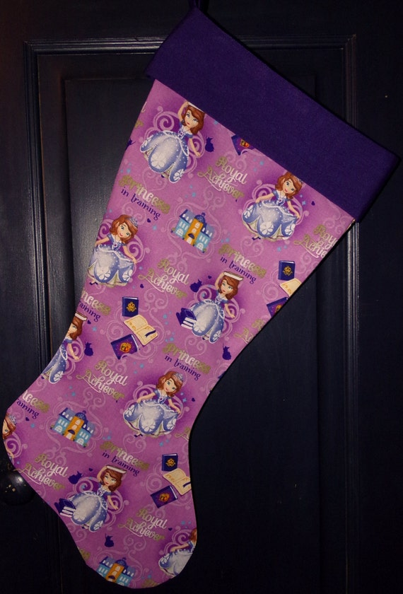Sofia The First Christmas Stocking
