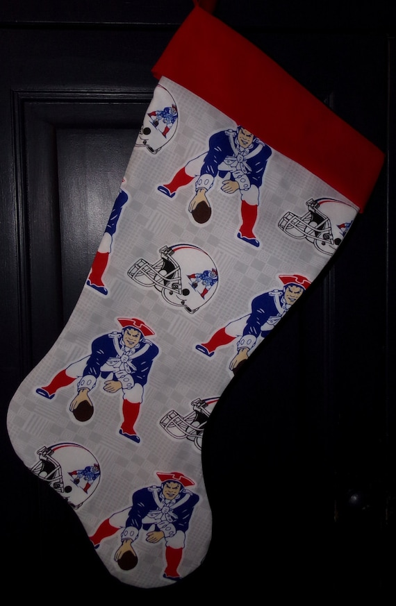 New England Patriot's Christmas Stocking