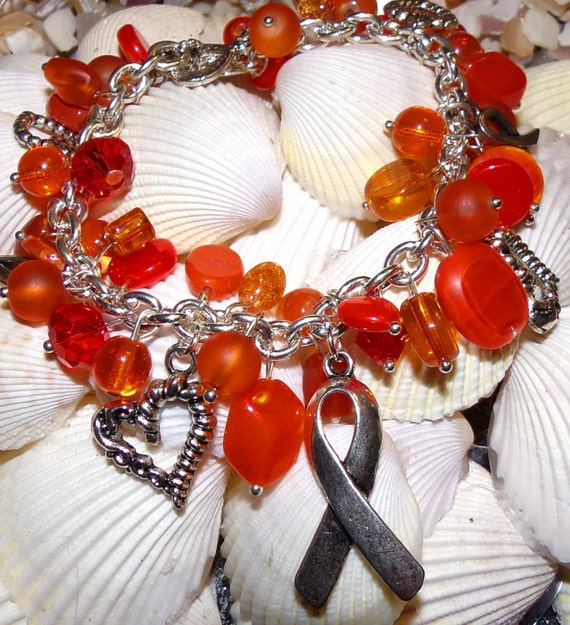 Orange Awareness Bracelet