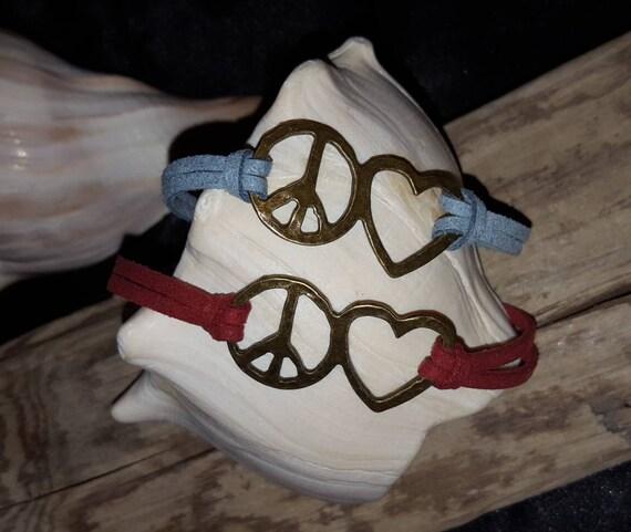 Peace & Love Bracelet