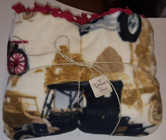 Ford Antique Car Blanket