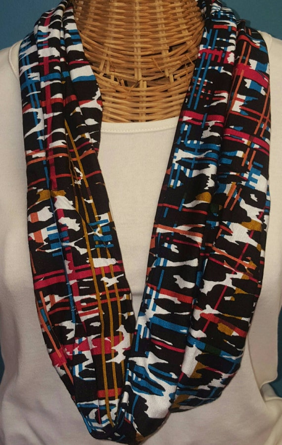 Colorful Single Wrap Scarf