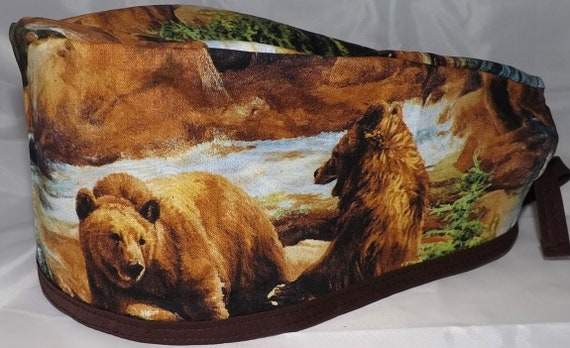 Bear Surgical cap