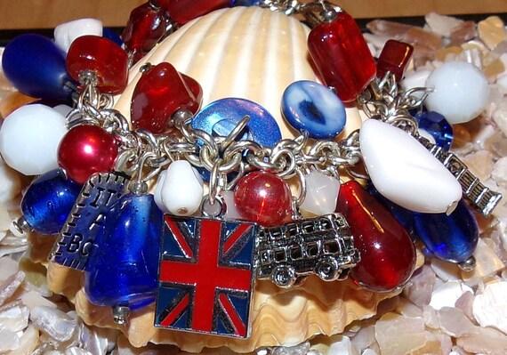 England Inspired Bracelet