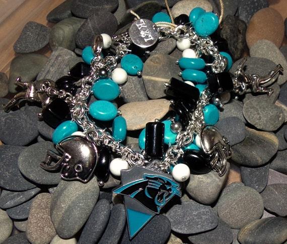 Carolna Panthers Bracelet