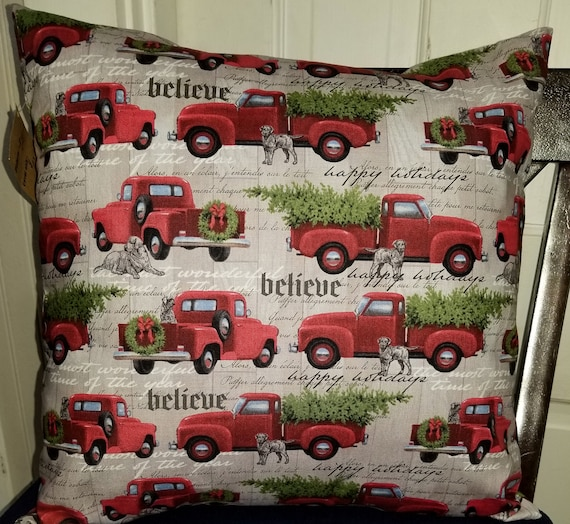 Truck Pillow Cover