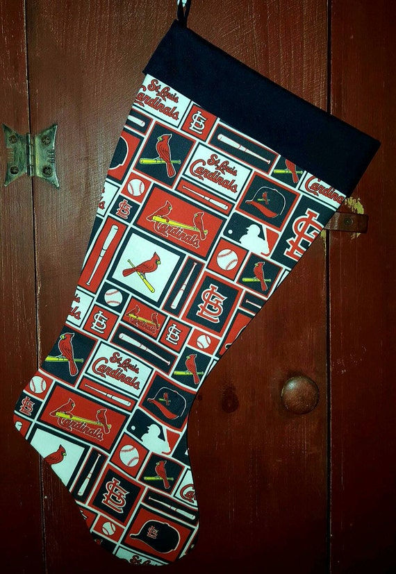 Cardinals Christmas Stocking