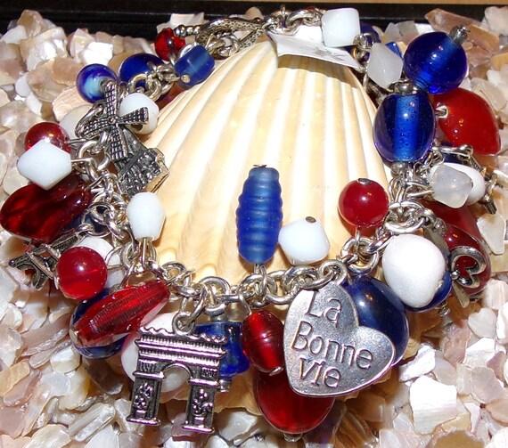 France Inspired Bracelet
