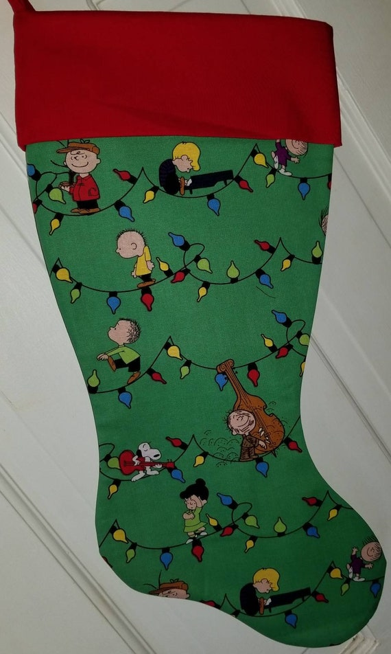 Peanuts Christmas Stocking