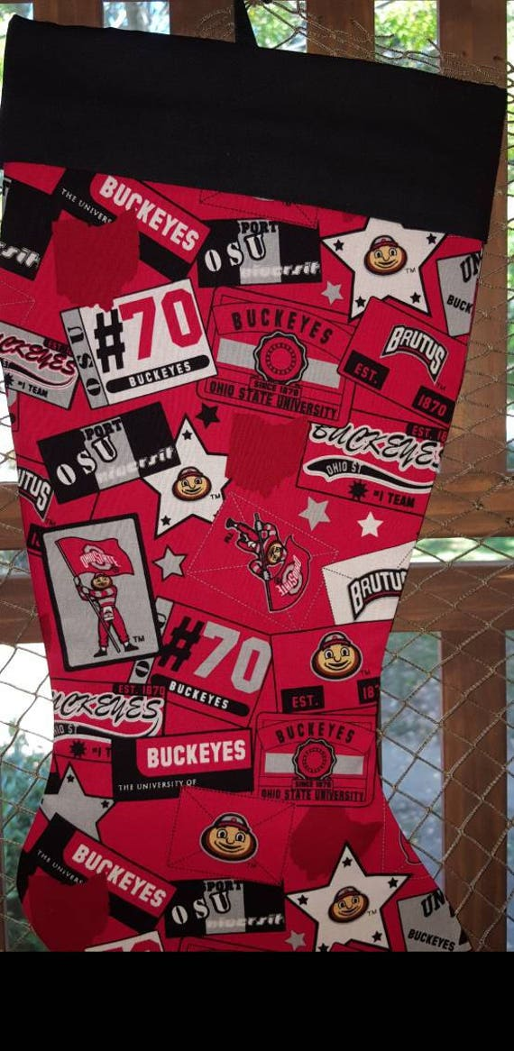 Buckeyes Christmas Stocking