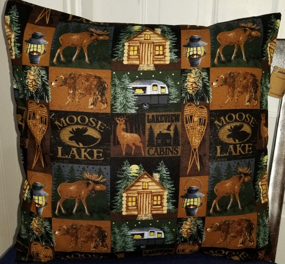 Moose Lake Pillow Cover