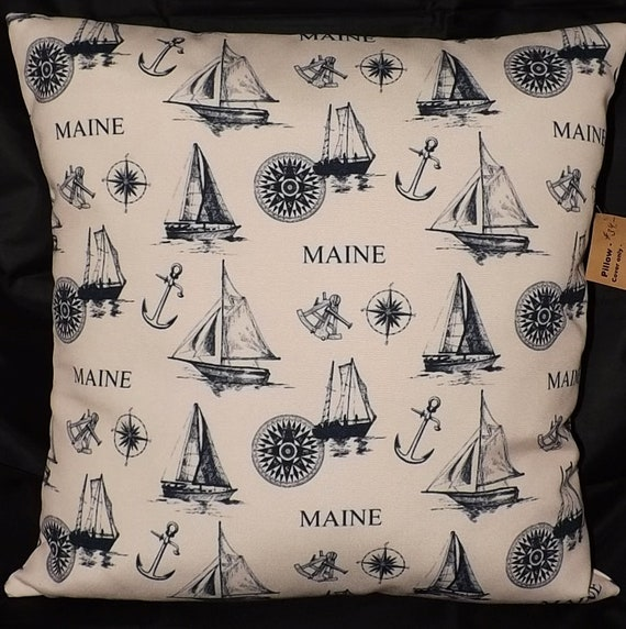 Maine Pillow Cover