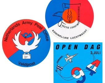 Royal Netherlands Air Force Stickers and Tote Bag