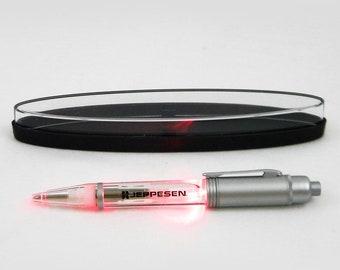 Jeppesen Red Light Flashlight Pen, Works Great, Includes Batteries, New Deadstock