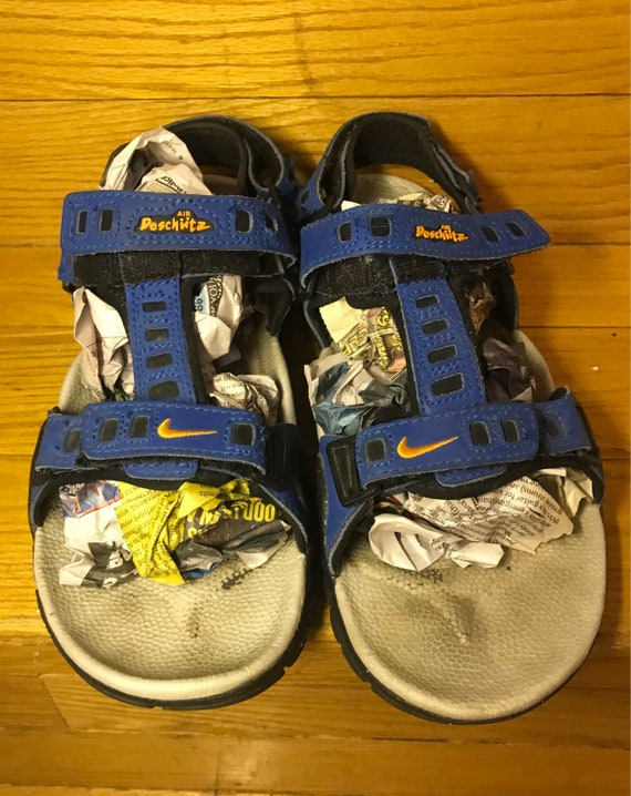 1e936a5c4e761b 90 s Nike AIR Deschutz Strappy Sport Sandal Mens 7 Womans