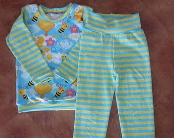 Bee happy set. 2-3y