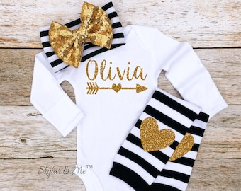 personalized baby bodysuit, personalized baby clothes, monogram baby girl, personalized baby girl, baby clothes baby girl coming home outfit