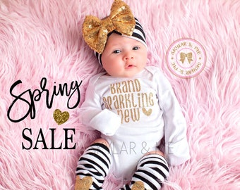 NEWBORN GIRL take home outfit, baby girl, baby girl coming home outfit, baby girl coming home outfit, brand sparkling new,baby shower gift