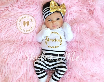 91dc5b875 Personalized newborn outfit