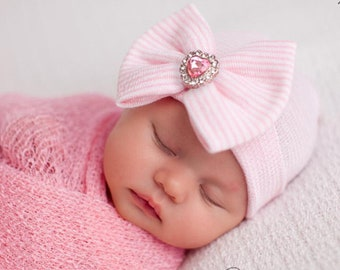 Newborn girl hat  5d1e5e02515