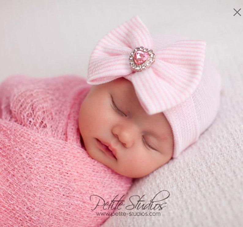 1300c8bca Baby Girl Photography Prop Newborn Photo Prop Newborn hat | Etsy