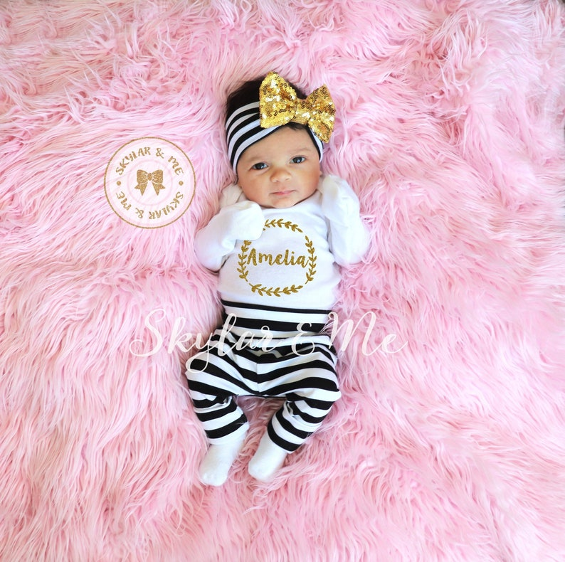 4e1f60b9a480 Newborn outfit hospital outfit coming home outfit baby