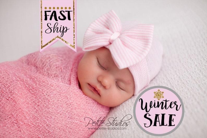 Baby hospital hat newborn hat newborn girl hat newborn  0cc908c1d96