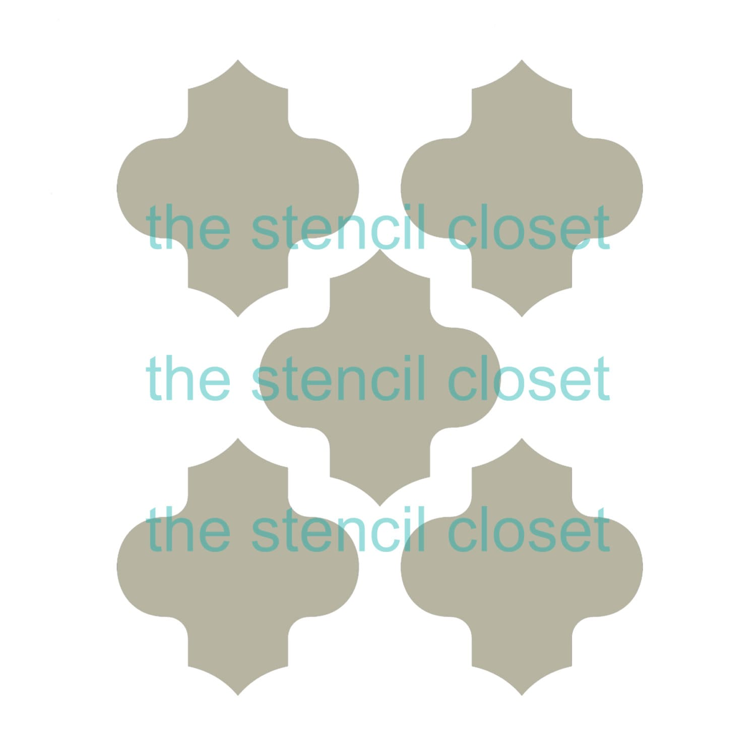 Large Moroccan Stencil Topsimages