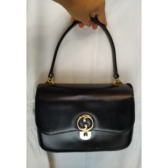 Gucci Vintage Bag // Authentic Gucci Vintage Leath