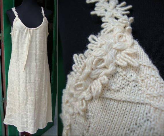 Peruvian Cotton Dress/Knit Maxi/Size XL/ Atahualpa