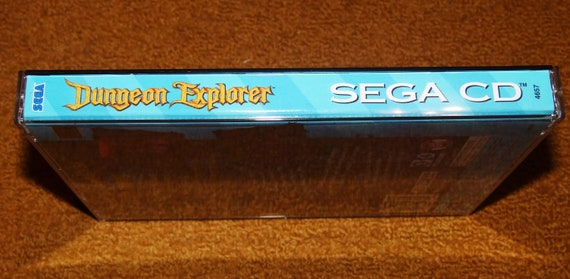Sega CD Dungeon Explorer Reproduction