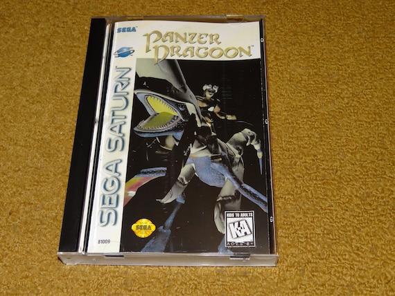 see variations below Sega Saturn manual case /& case insert Custom printed Panzer Dragoon Zwei II
