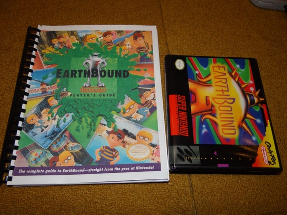 snes earthbound player s guide guide also available in rh etsy com earthbound strategy guide download earthbound strategy guide