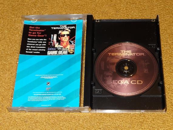 Sega CD Terminator reproduction game disc, reprinted manual, case & case  insert (see variations below)