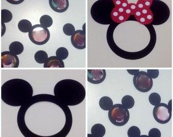 Lot of 36 Preschool Kindergarten Walt Disney Mickey and Minnie Mouse Classroom Picture Frames