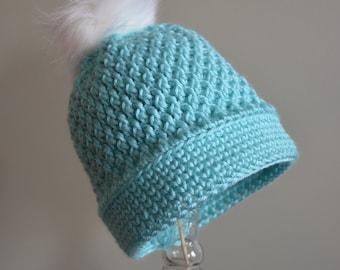 Crochet Pattern - Textured Beanie