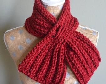 Crochet Pattern - Weave Through Scaflette