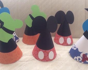 Gorros fiesta Mickey Mouse Clubhouse   bolsas-la pandilla de  79f25454414