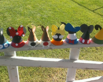 Mickey Mouse Clubhouse sombreros y bolsos-la pandilla de Clubhouse completo! 441df8f6639